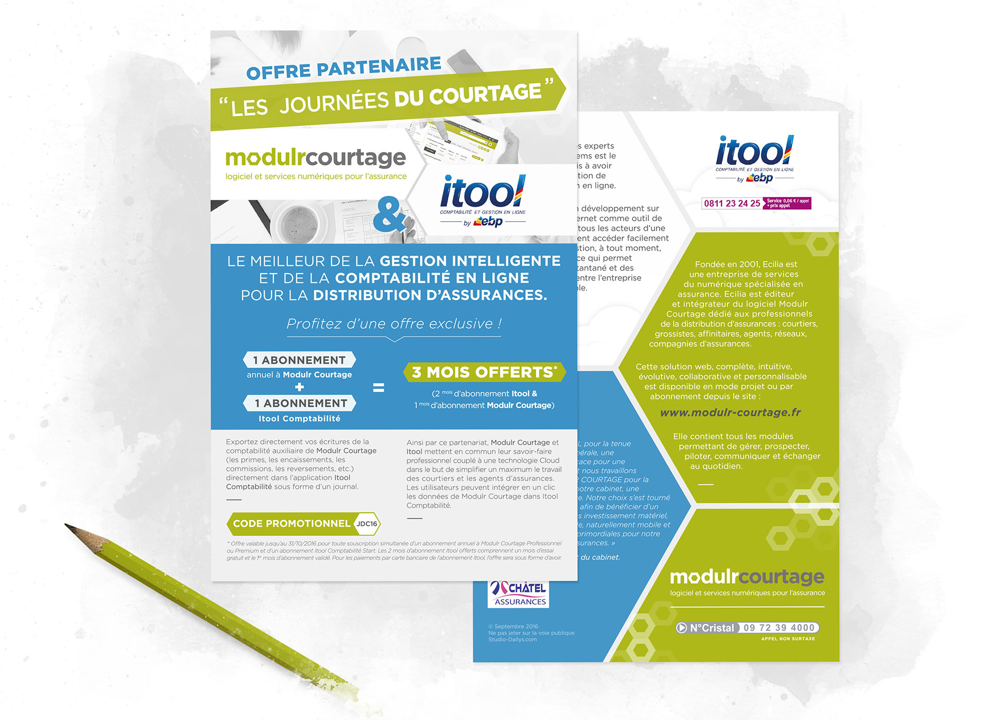 ModulR Courtage flyers promotions salons